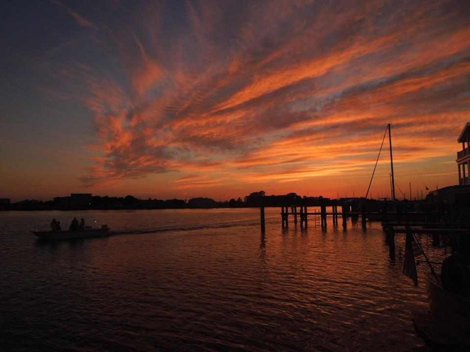 Beaufort sunset